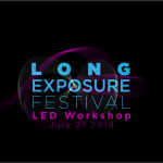 LED Workshop with the Long Exposure Festival